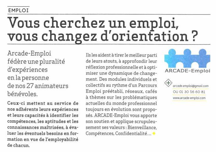 Noisy Le Mag – Vous cherchez un emploi ? Vous changez d'orientation ?